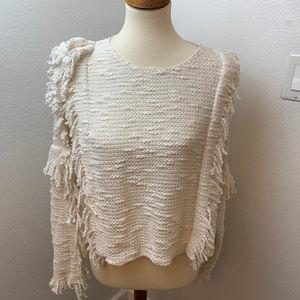 MISA los angeles Anthro Karine Boucle Sweater. Med